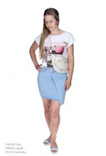 JD 313 sukně jeans Cindy