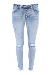 3d-7154  jeans kalhoty Itálie