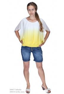 Ormi 3818 jeans kraťasy