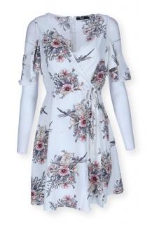 H495 šaty květ/180437