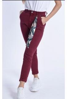 3d-6858-29 Jeans bordó