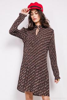 Escandelle Paris šaty plise H343