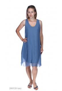 8550 šaty hedvábí Itálie