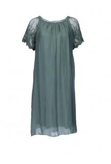 60876 šaty hedvábí Itálie