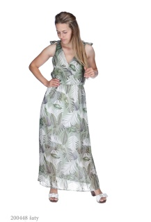 8159 šaty dlouhé Itálie