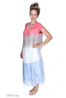 9508 šaty hedvábí Italie