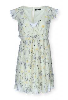 H490 šaty květ