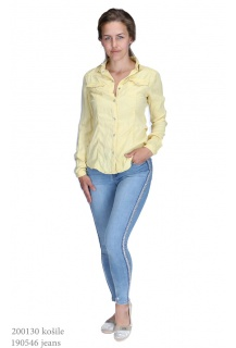 3d-6889 jeans Košile color