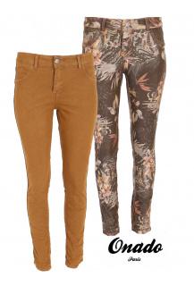 Onado H1927 JB jeans kalhoty oboustranné CAMEL