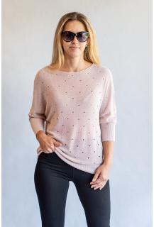 D&Z fashion DZ-8716 svetřík lurex