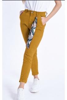 3d-6858-33 Jeans okrová