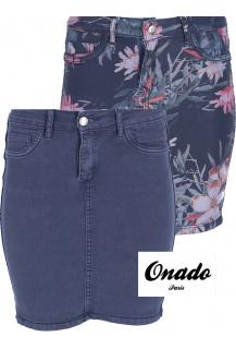 Onado ON578-BL jeans sukně