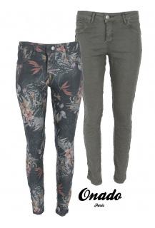 Onado H1927 VB jeans kalhoty oboustranné KHAKI