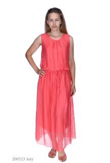 9170 šaty hedvábí Itálie