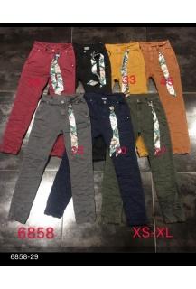 3d-6858-27 Jeans khaki