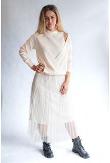 Finery B227 top / sukně úplet Itálie