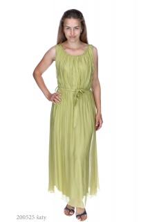 8379 šaty hedvábí Itálie