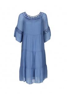 7260 šaty hedvábí Itálie