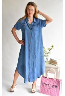 12801 šaty Jeans Itálie
