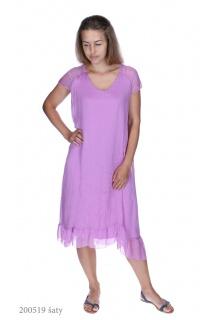 9271 šaty hedvábí Itálie