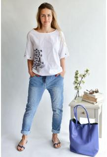 80720 7/8 jeans kalhoty Itálie