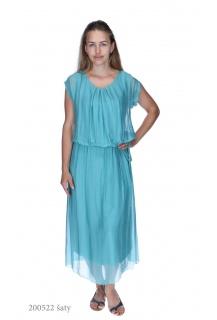 8312 šaty hedvábí Itálie