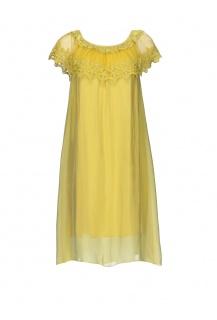 61002 šaty hedvábí Itálie