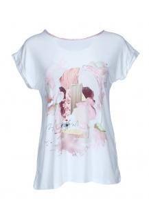 Nana Bella triko růžová květ Paris