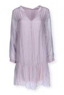 9086 hedvábí šaty